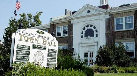 North Hempstead Town Hall at 220 Plandome Rd.,