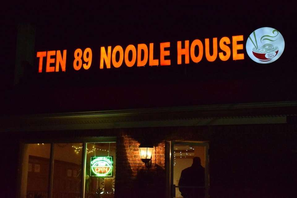 Ten 89 Noodle House, located a short walk