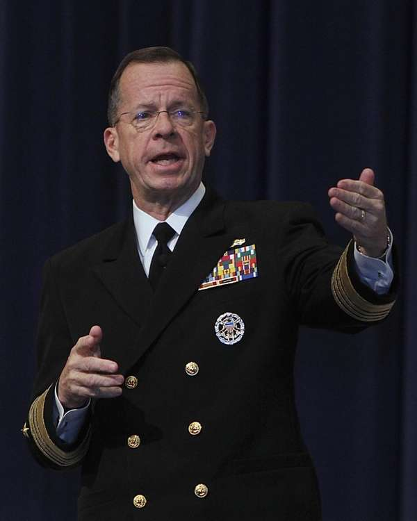 Adm. Mike Mullen, chairman of the Joint Chiefs