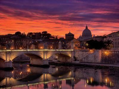 The Rome skyline