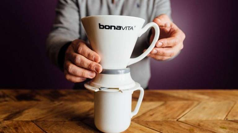 The Bonavita Immersion Dripper makes rich coffee and