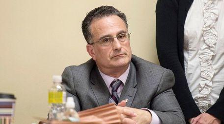 Former Oyster Bay Town Attorney Leonard Genova in
