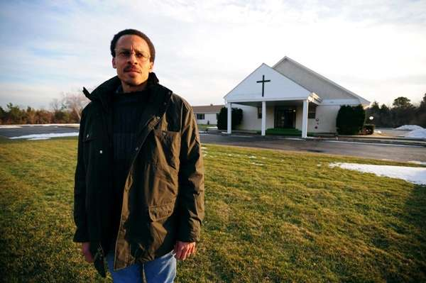 James Boyd, church member and volunteer for the