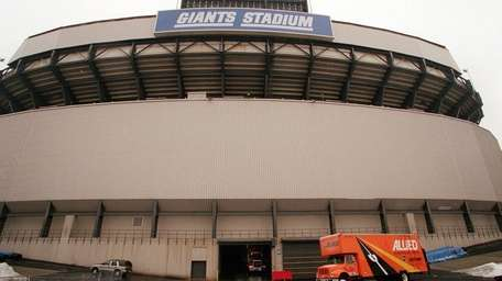 Giants Stadium on Saturday, January 20, 2001 at
