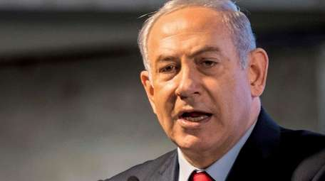 Israeli Prime Minister Benjamin Netanyahu inaugurates a hospital