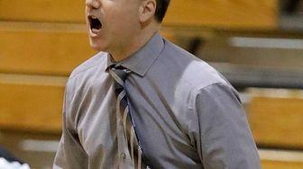 St. Anthony's boys varsity basketball head coach Sal