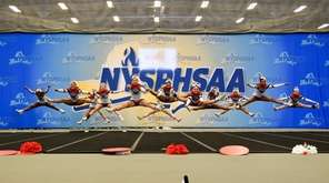 The Freeport Devils compete in the preliminary competition