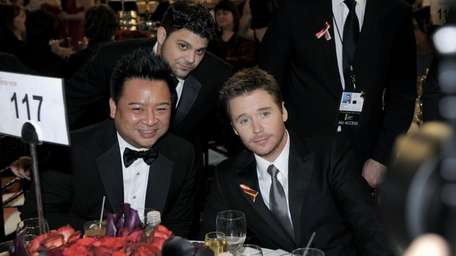 Rex Lee, Jerry Ferrara and Kevin Connolly attend
