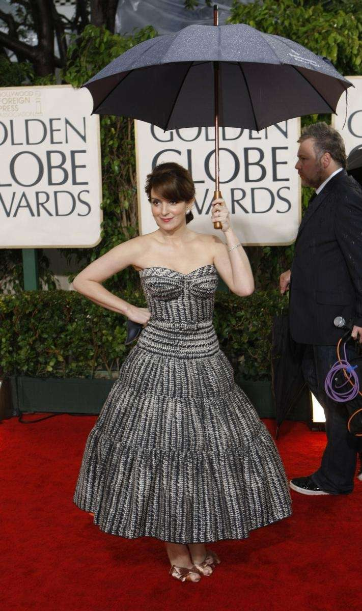 Tina Fey attends the 67th Annual Golden Globe