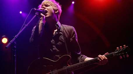 Britt Daniel of Spoon performs during day one