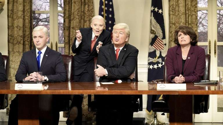 Beck Bennett as Vice President Mike Pence, Alec