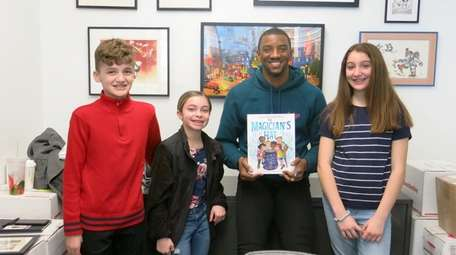 New England Patriots wide receiver and author Malcolm