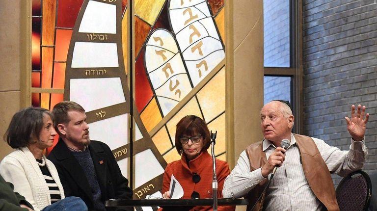 Vivian Viloria Fisher, (from left) Jeff Keister, Marcey