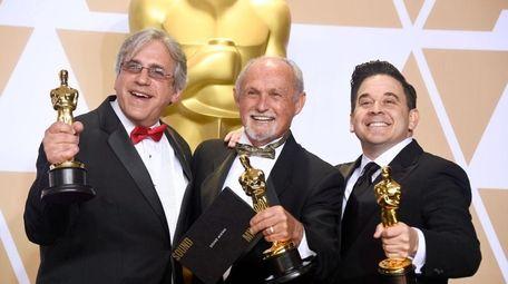 Sound engineers Mark Weingarten, Gregg Landaker and Gary