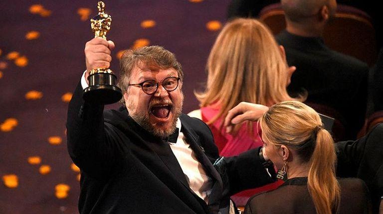 Guillermo del Toro, winner of the award for