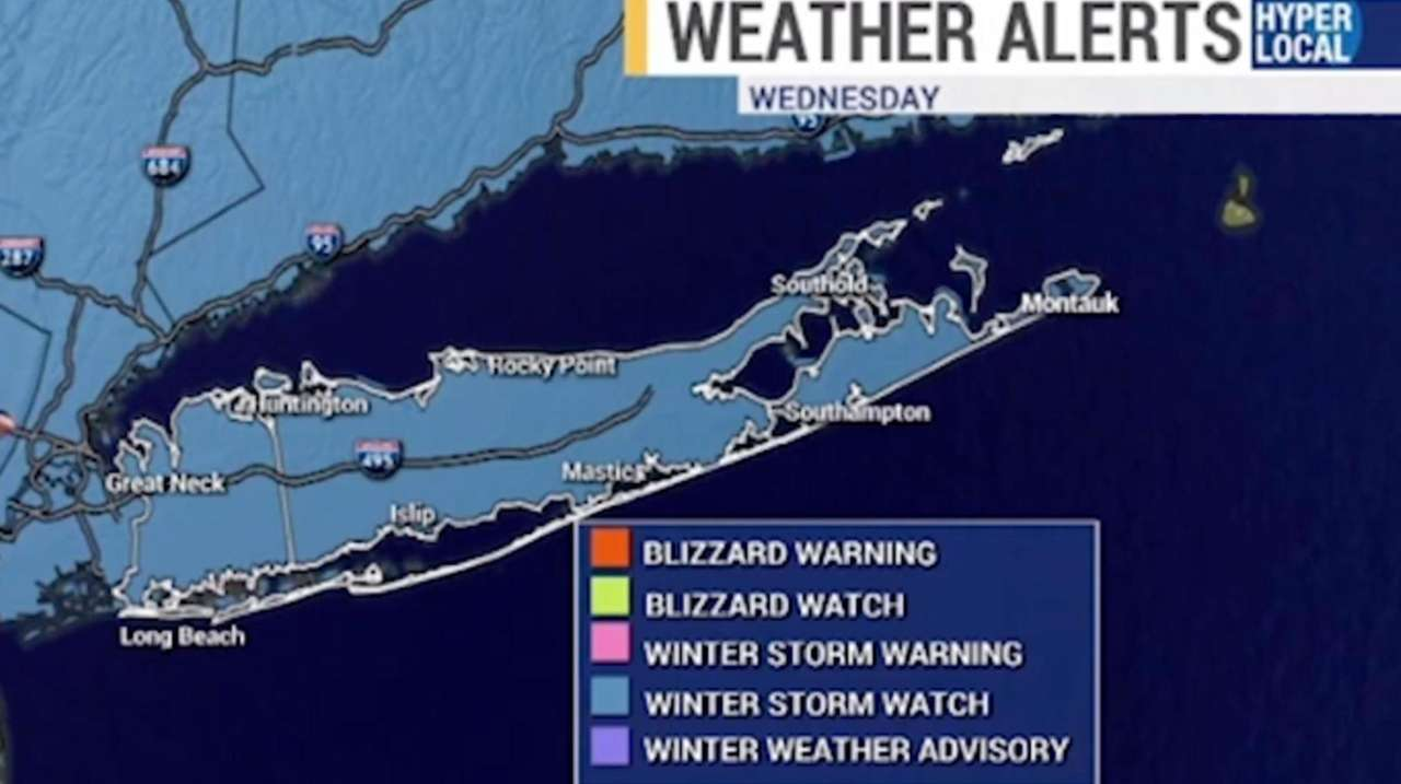 A winter storm watch is in effect from