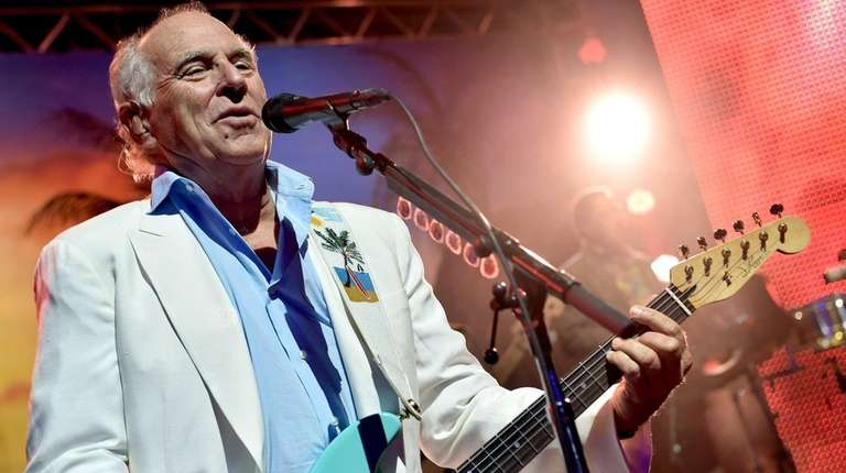 Jimmy Buffett performs at Hollywood & Highland in