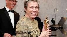 Frances McDormand attends the Governors Ball after the