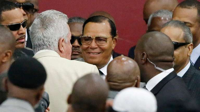 Dem congressman and Farrakhan buddy isn't bothered by