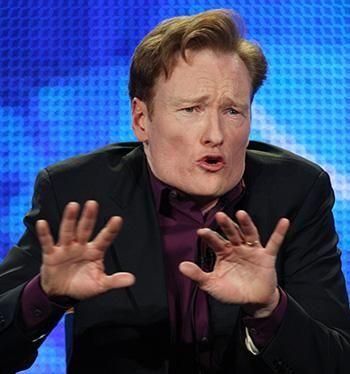 Conan loves NBC....