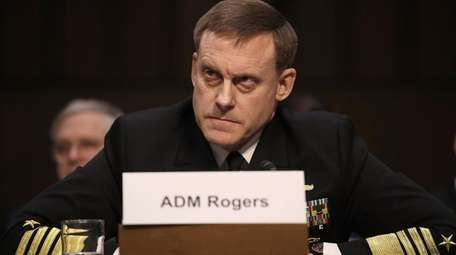 Adm. Michael Rogers, director of the National Security