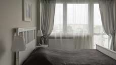 A stark white room can often be too