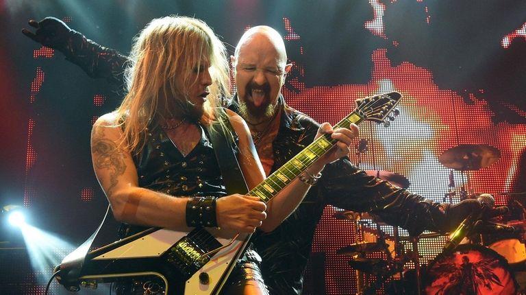 22210df1e Judas Priest talks touring without Glenn Tipton, more ahead of Nassau  Coliseum stop