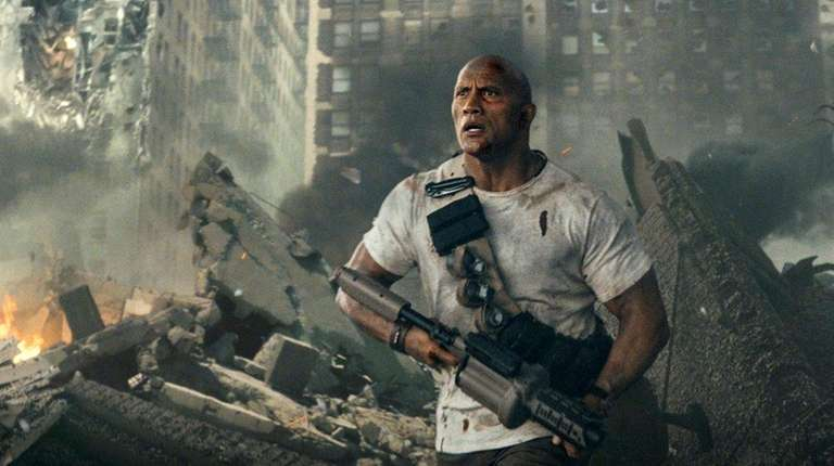 Dwayne Johnson shoots for an earlier premiere of