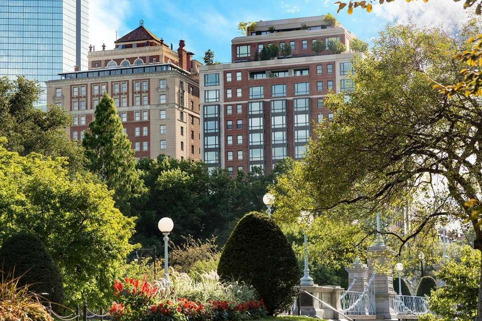 The Taj Boston, a luxury hotel overlooking Boston
