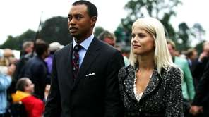 Tiger Woods and his wife Elin the 2006