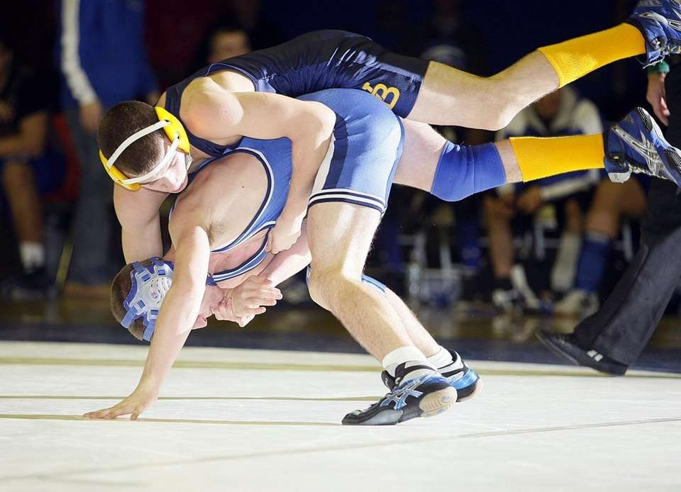 West Babylon's Steve Gagliano stays on top of