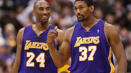Kobe Bryant is joined by a talented Lakers
