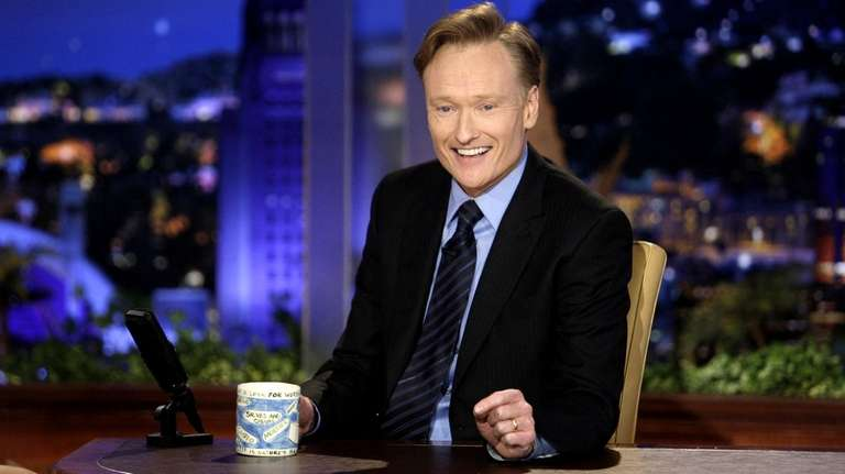 Conan O'Brien makes his debut as the host