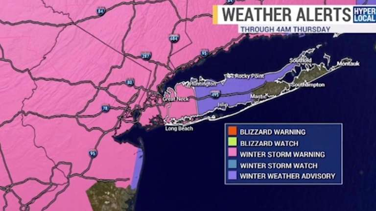 News 12 Long Island meteorologist Bill Korbel said