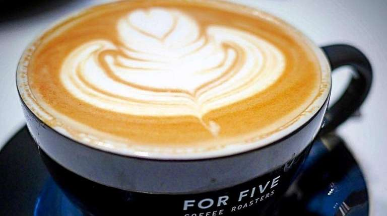 For Five Coffee Roasters has opened a cafe