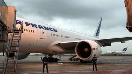 An Air France plane bound for Washington, is