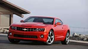 The 2010 Chevrolet Camaro SS with an RS