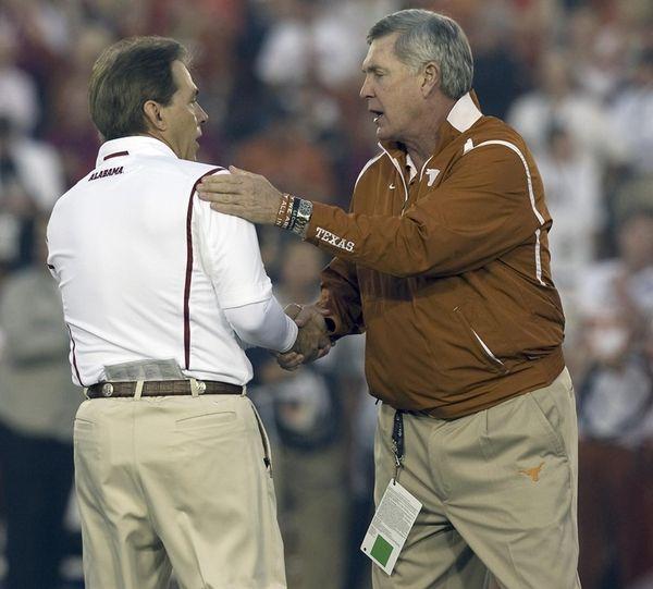 The salaries of big-name coaches like Alabama's Nick