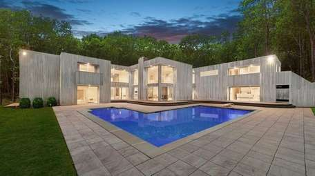 The Sag Harbor home is listed for $3.495