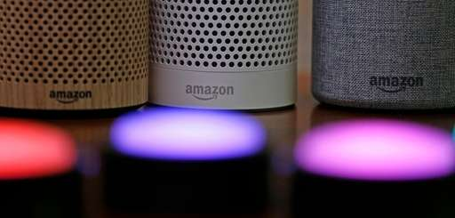 Amazon Echo and Echo Plus devices in Seattle,
