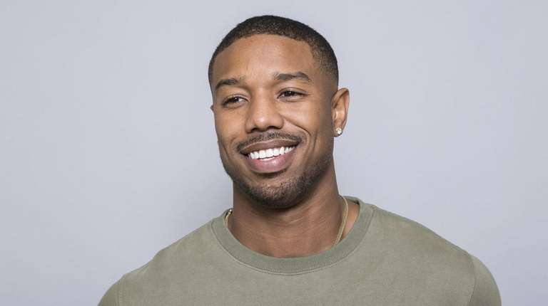 Michael B. Jordan is seen Jan. 30, 2018.