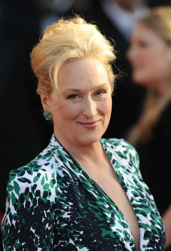Meryl Streep arrives at the 16th annual Screen
