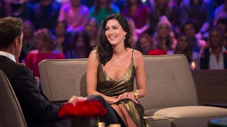 Becca Kufrin speaks to Chris Harrison Tuesday, March