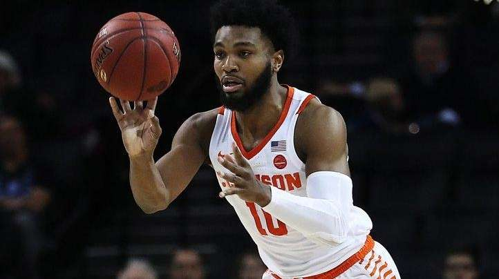 Clemson holds off Boston College in quarterfinals of ACC Tournament