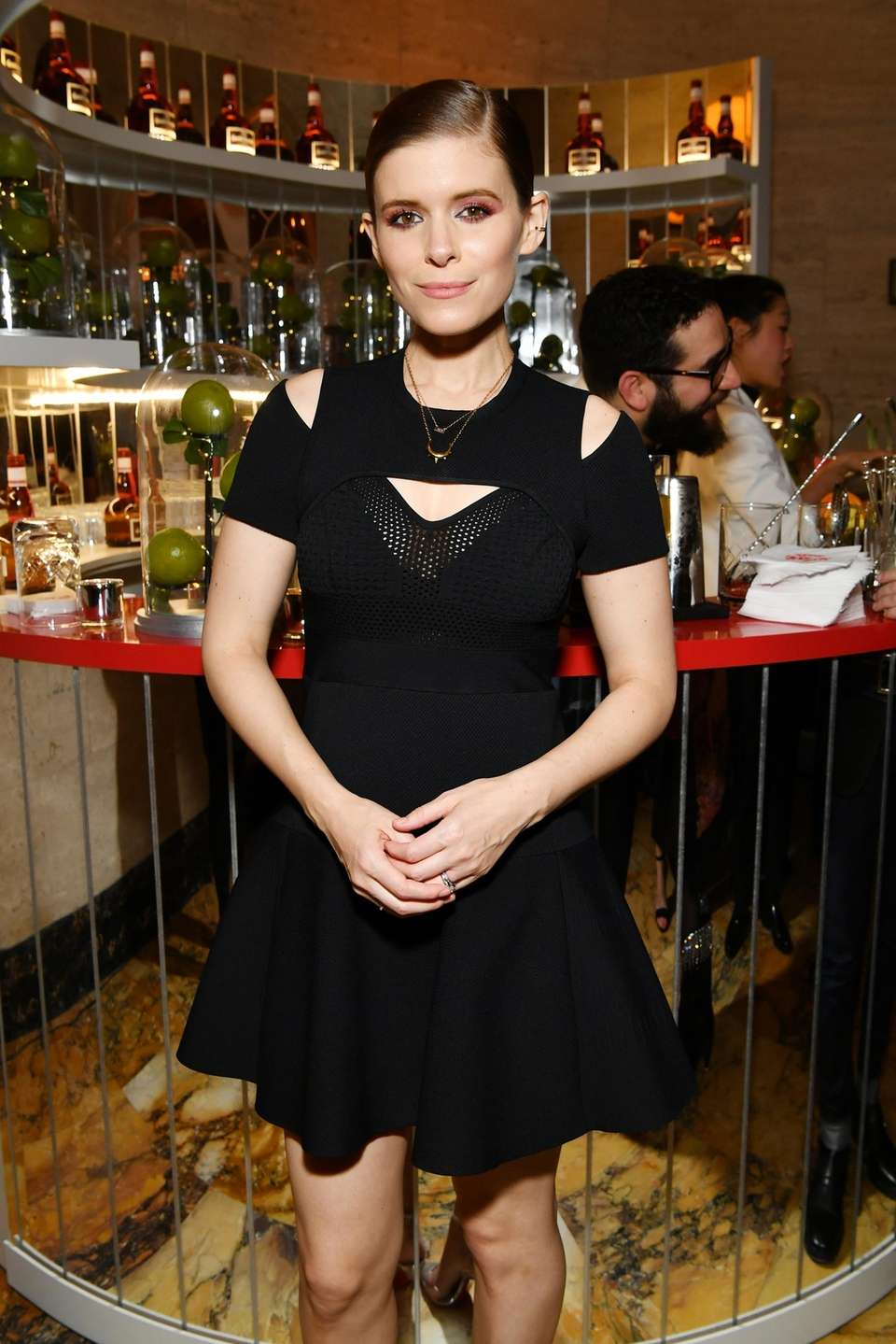 Actress Kate Mara attends Grand Marnier's new campaign