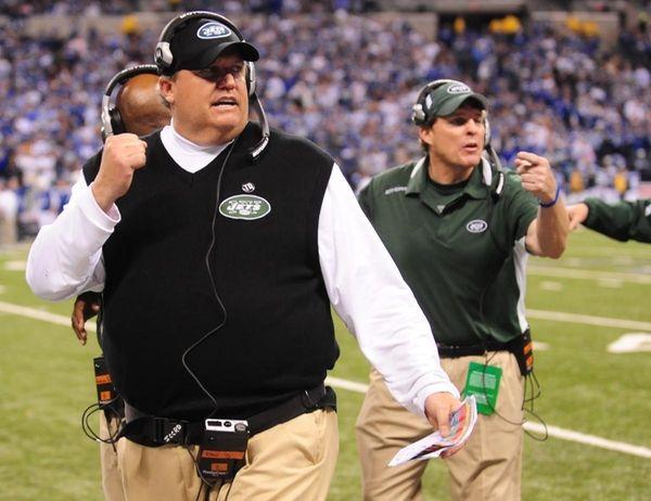 New York Jets head coach Rex Ryan late