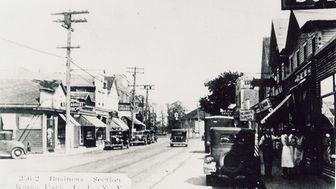 Main Street looking east toward Henry Street in