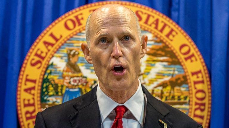 NRA Files Suit Against Gov. Rick Scott's Gun Control