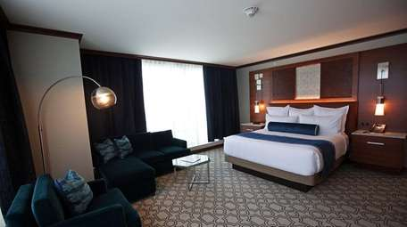 One of the 332 hotel suites at Resorts