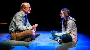 Ed Harris and Rileigh McDonald in David Rabe's
